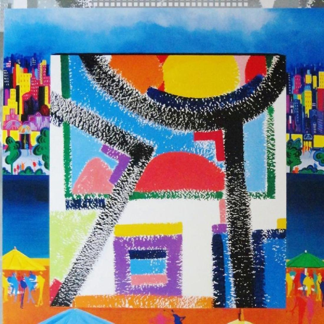 Posillico Pop Art Deco Colored Litho SALE DEALER - 3