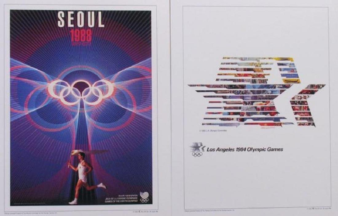 Collection of 24 Official Olympic Print Set Awesome - 4