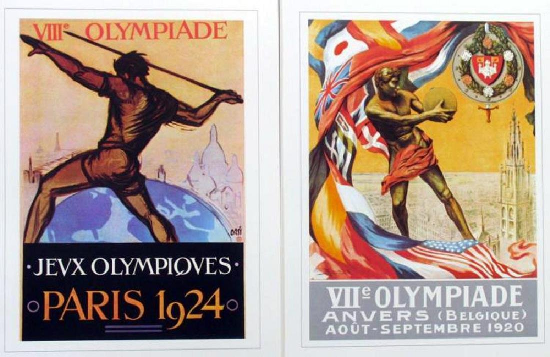 Collection of 24 Official Olympic Print Set Awesome - 8