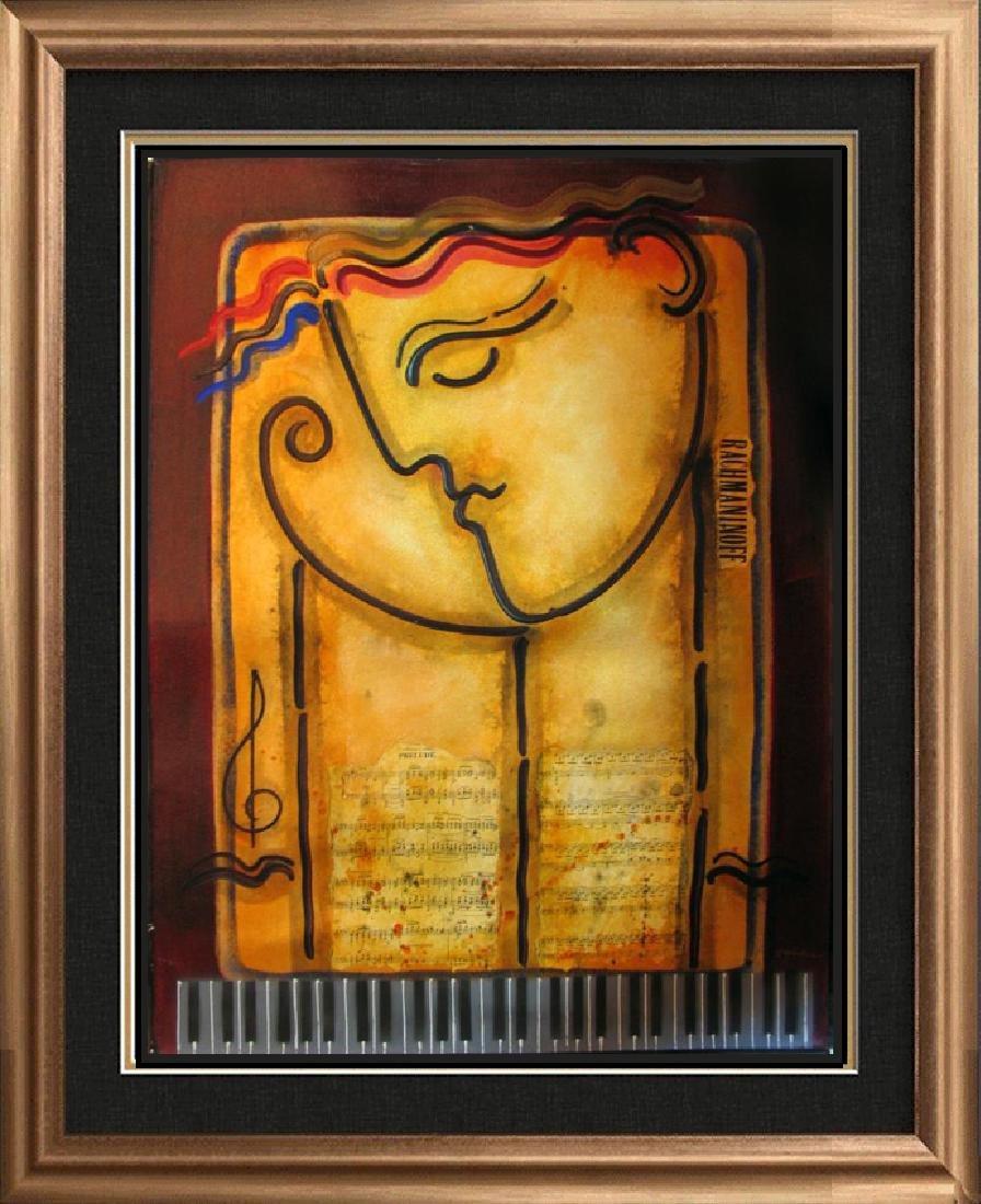 Rachmaninoff Abstract Modern Figurative Gaylord Art