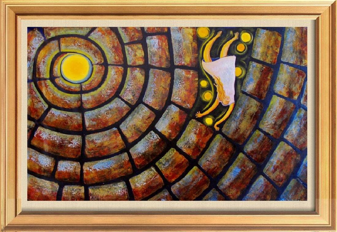 Alice In Wonderland Rare Gaylord Abstract Original