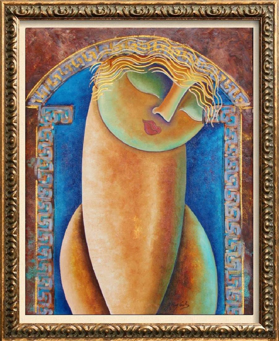 Beautiful Figurative Abstract Modern Original Painting