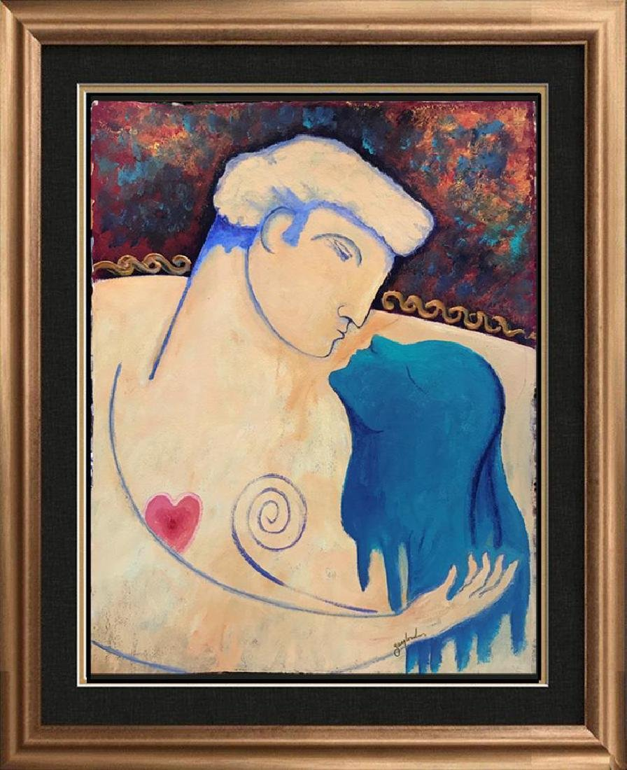 Lovers Gaylord Soli Original Signed Painting