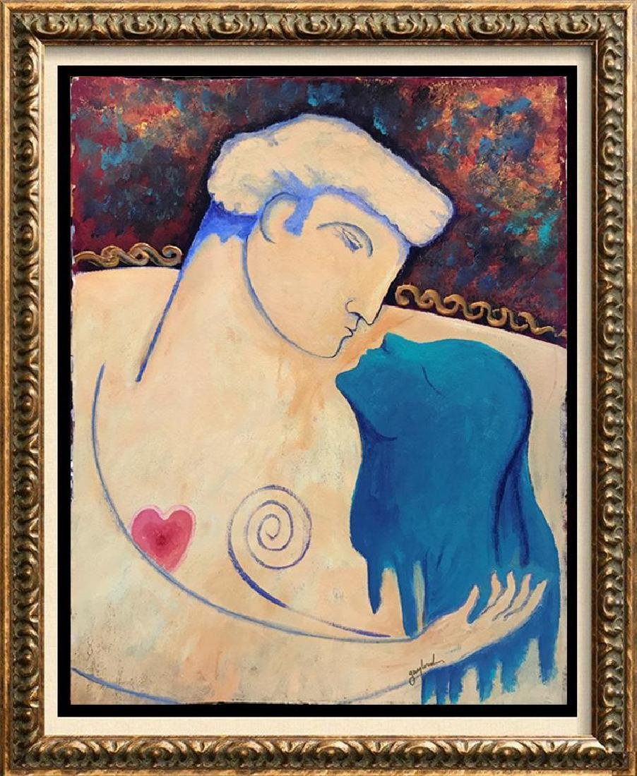 Lovers Gaylord Soli Original Signed Painting - 3