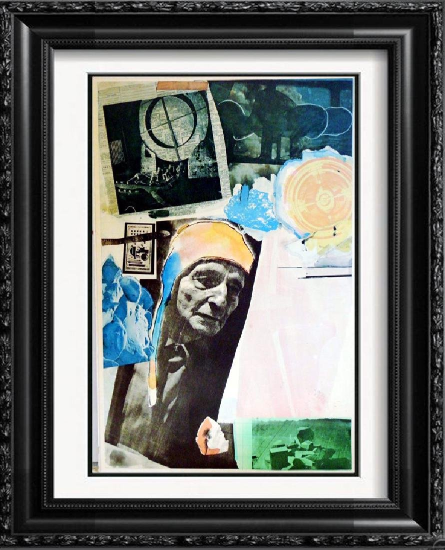 Fantastic Find Robert Rauschenberg Collage Lithograph