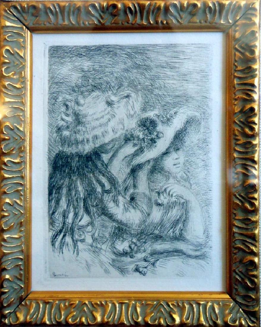 Pierre Auguste Renoir Le Chapeau Epingle Ref; Stella 6 - 2