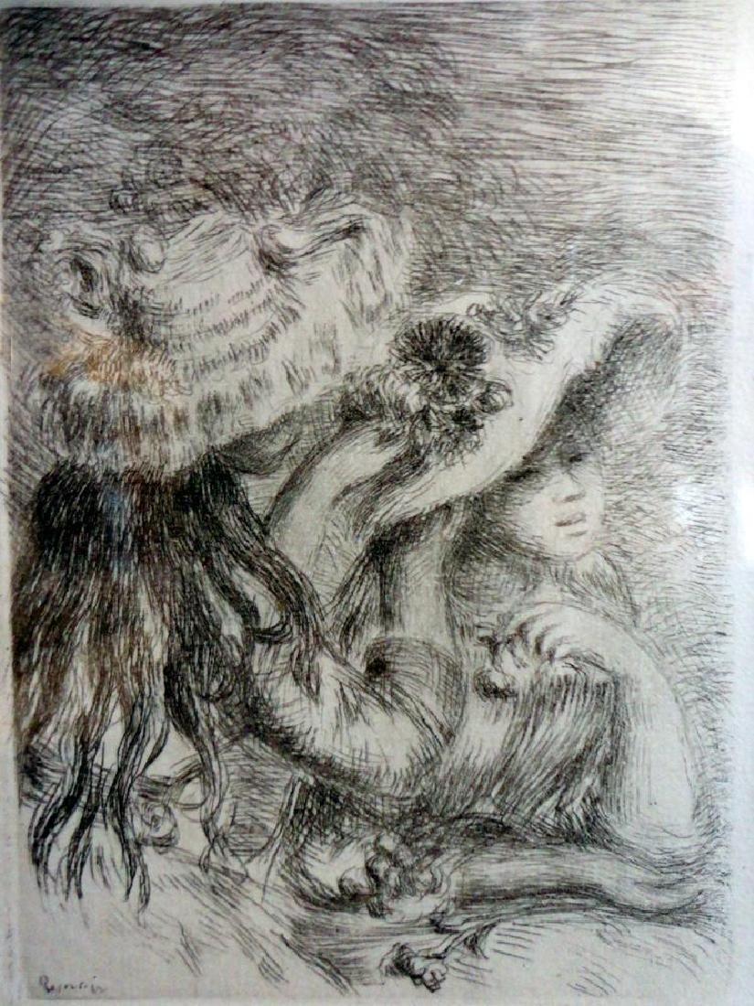 Pierre Auguste Renoir Le Chapeau Epingle Ref; Stella 6 - 5