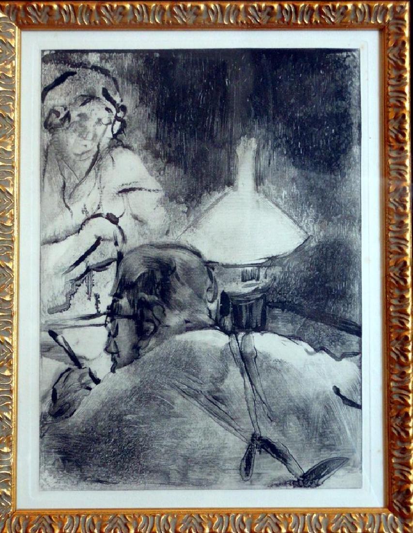 Edgar Degas Lecture Ref; Adhemar 274-276, Skira 58, - 2