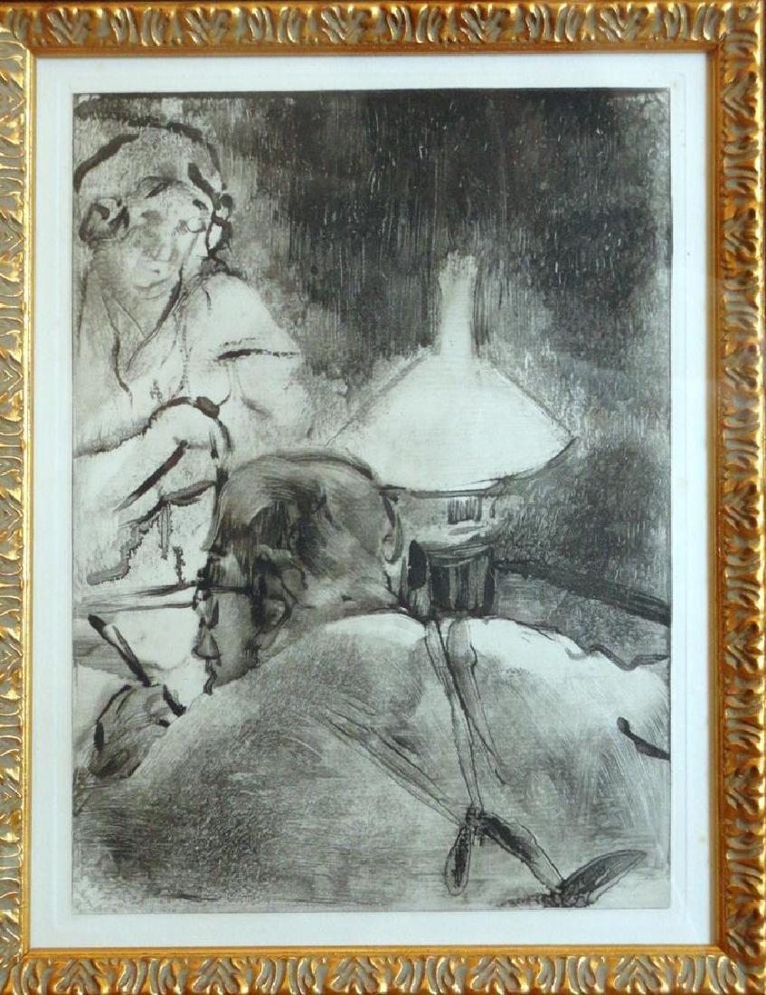 Edgar Degas Lecture Ref; Adhemar 274-276, Skira 58, - 3