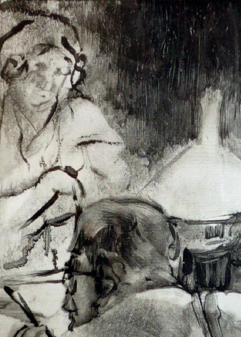 Edgar Degas Lecture Ref; Adhemar 274-276, Skira 58, - 5