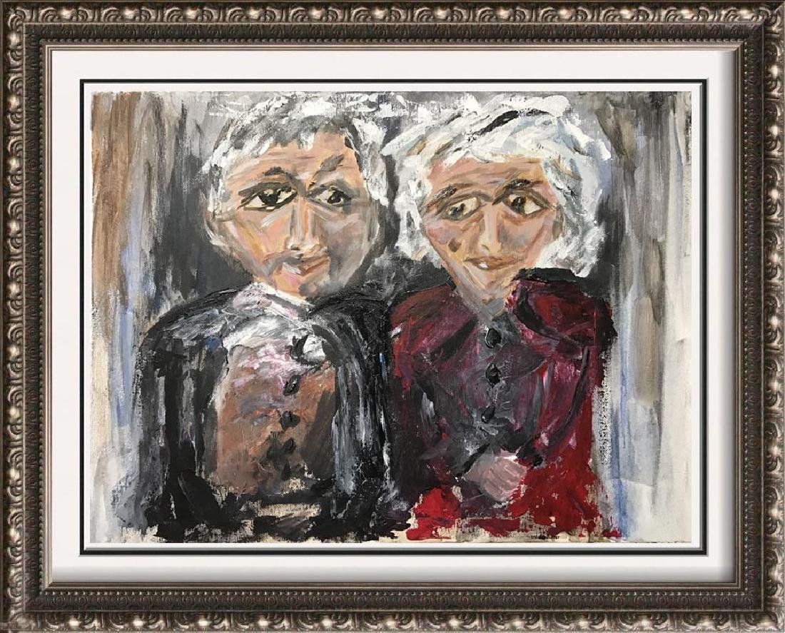 Swahn Original Canvas Marriage Colorful Whimsy