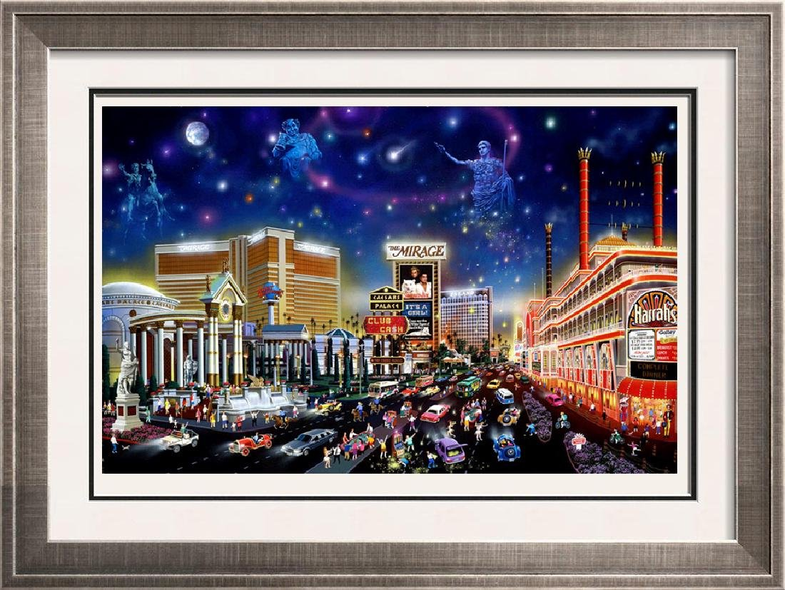 Vegas Lady Be Luck Limited Edition Art