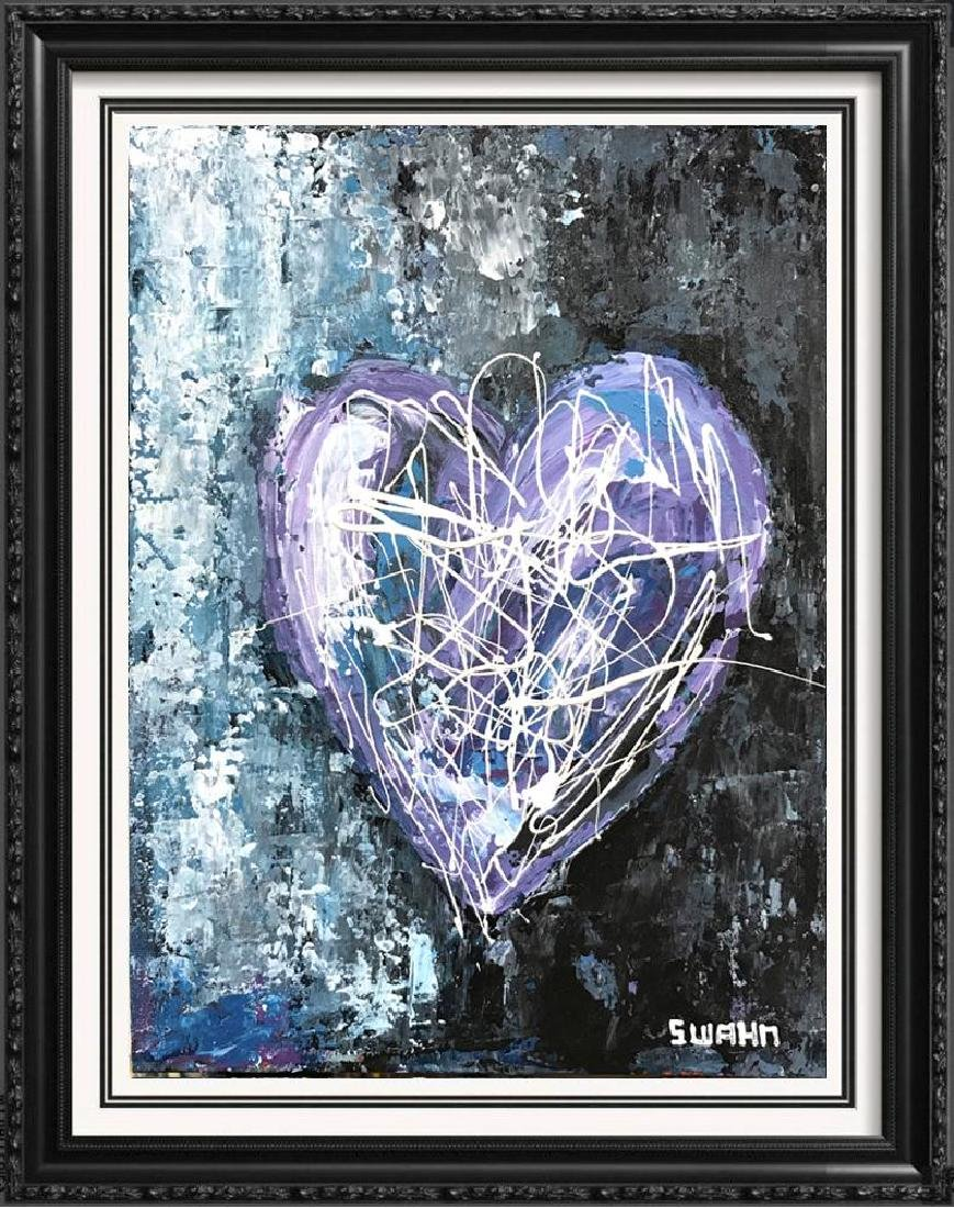 Swahn Pop Art Signed Painting on Panel