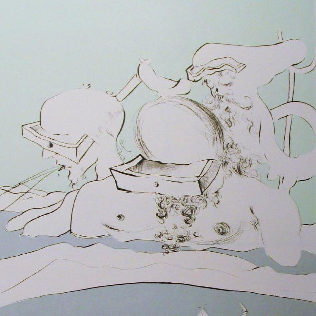 Salvador Dali Surreal Abstract Lithographic Poster Sale - 3