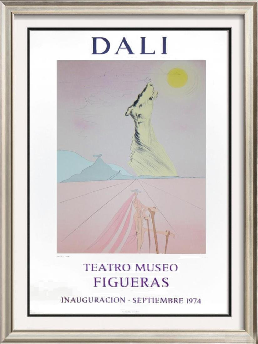 Salvador Dali Surreal Abstract Lithographic Poster Sale