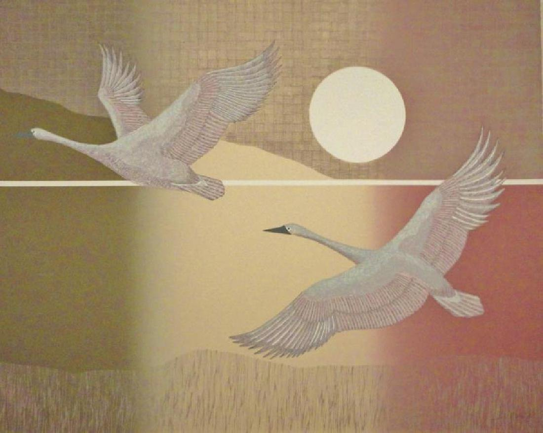 Birds In Flight Abstract Limited Edition Dealer Sale - 2
