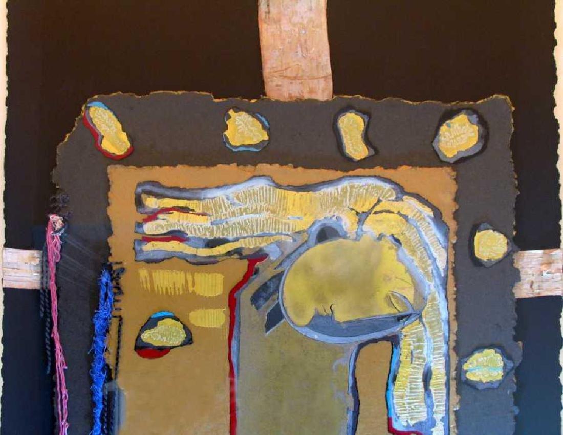 Orlando Agudelo Botero Offering Framed Rare Find Estate - 2