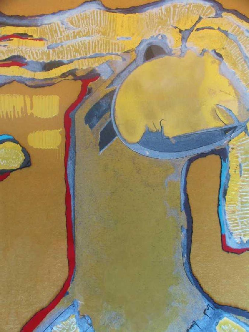 Orlando Agudelo Botero Offering Framed Rare Find Estate - 4
