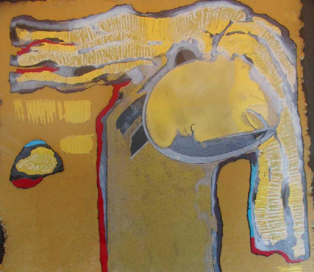 Orlando Agudelo Botero Offering Framed Rare Find Estate - 5