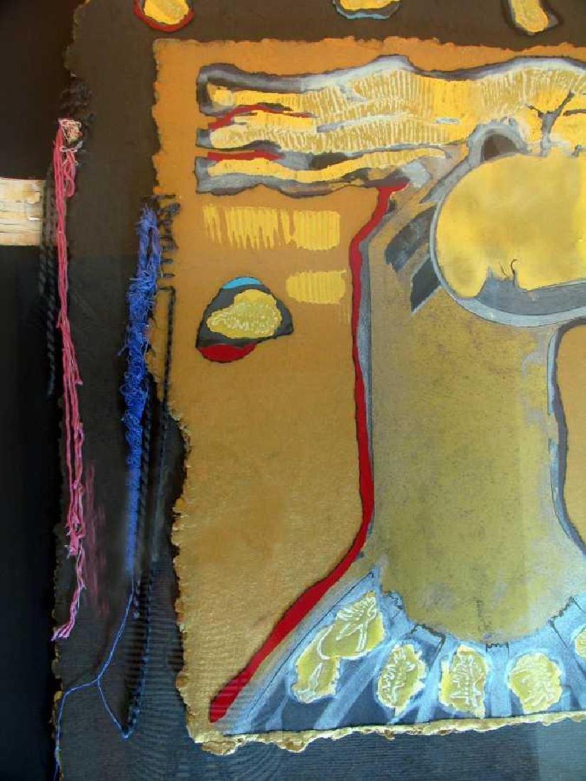 Orlando Agudelo Botero Offering Framed Rare Find Estate - 9