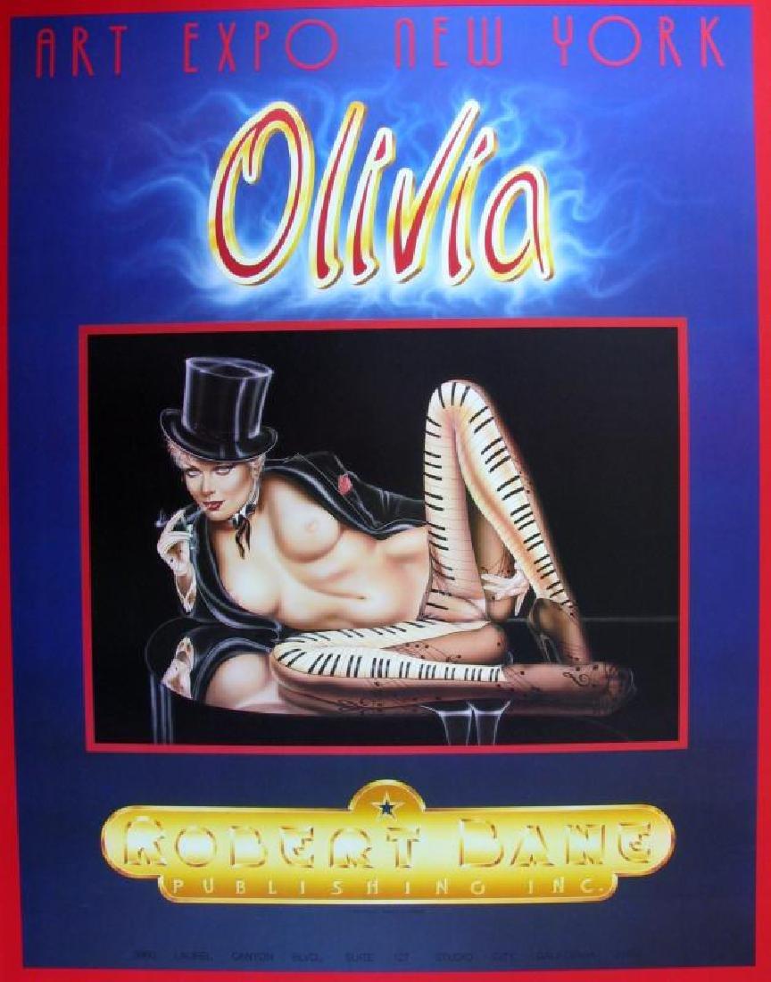 MUSICAL OLIVIA PIANO NUDE RARE FINE ART PRINT SALE - 2