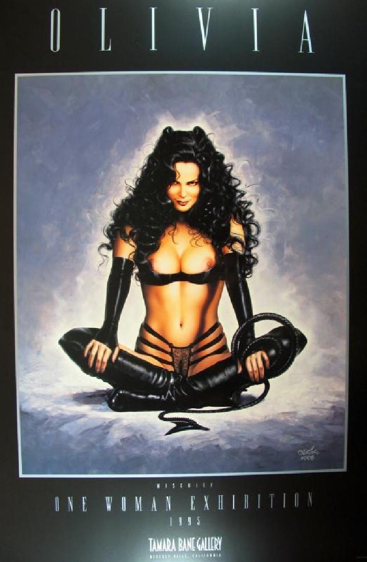 Olivia Print Erotic Nude Large Dealer Liquidation - 2