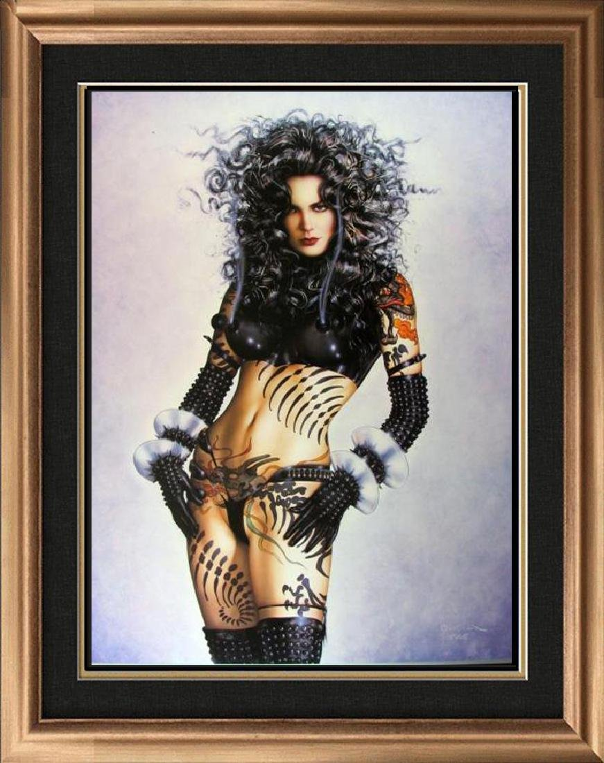 Olivia Pin Up Print Erotic Nude Large Dealer