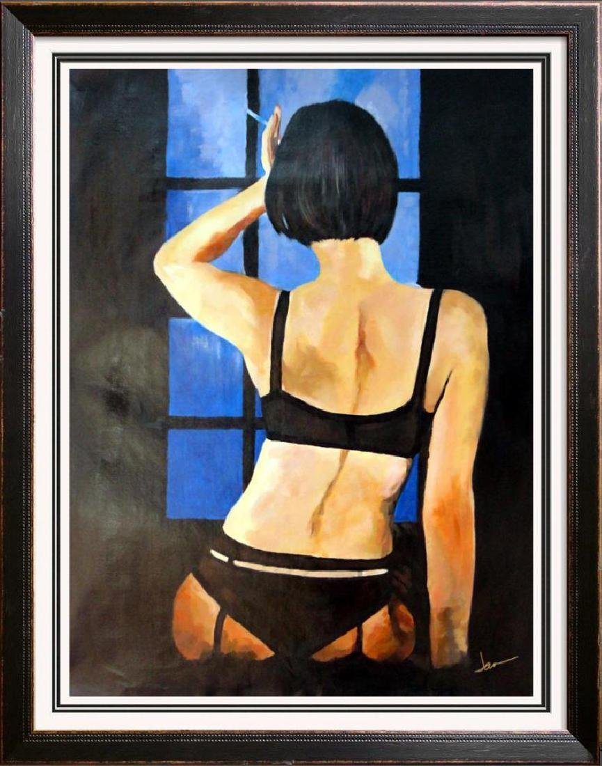 Private Dancer Nude Erotic Swahn Original Painting
