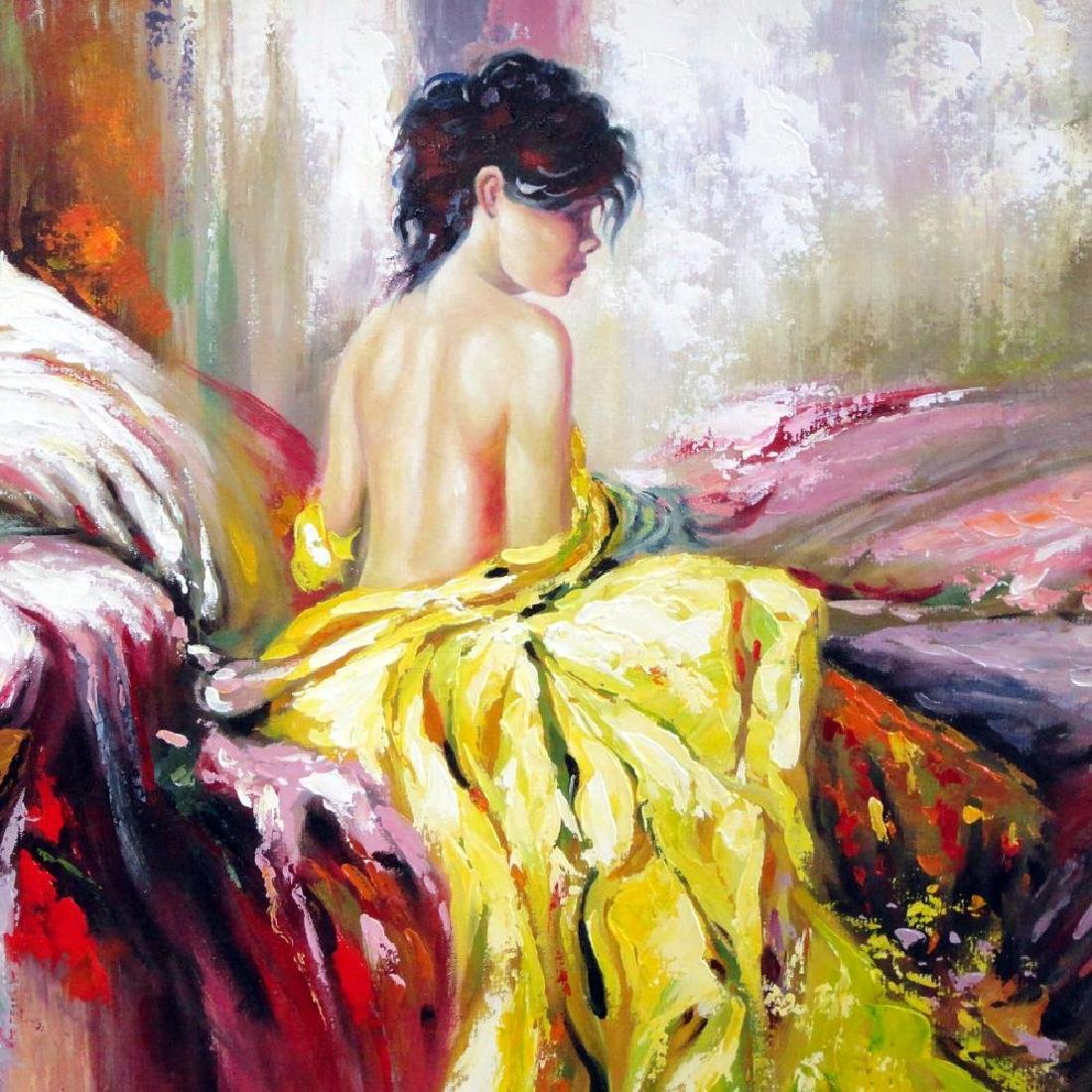 Impressionistic Large Painting on Canvas Pino Inspired - 3