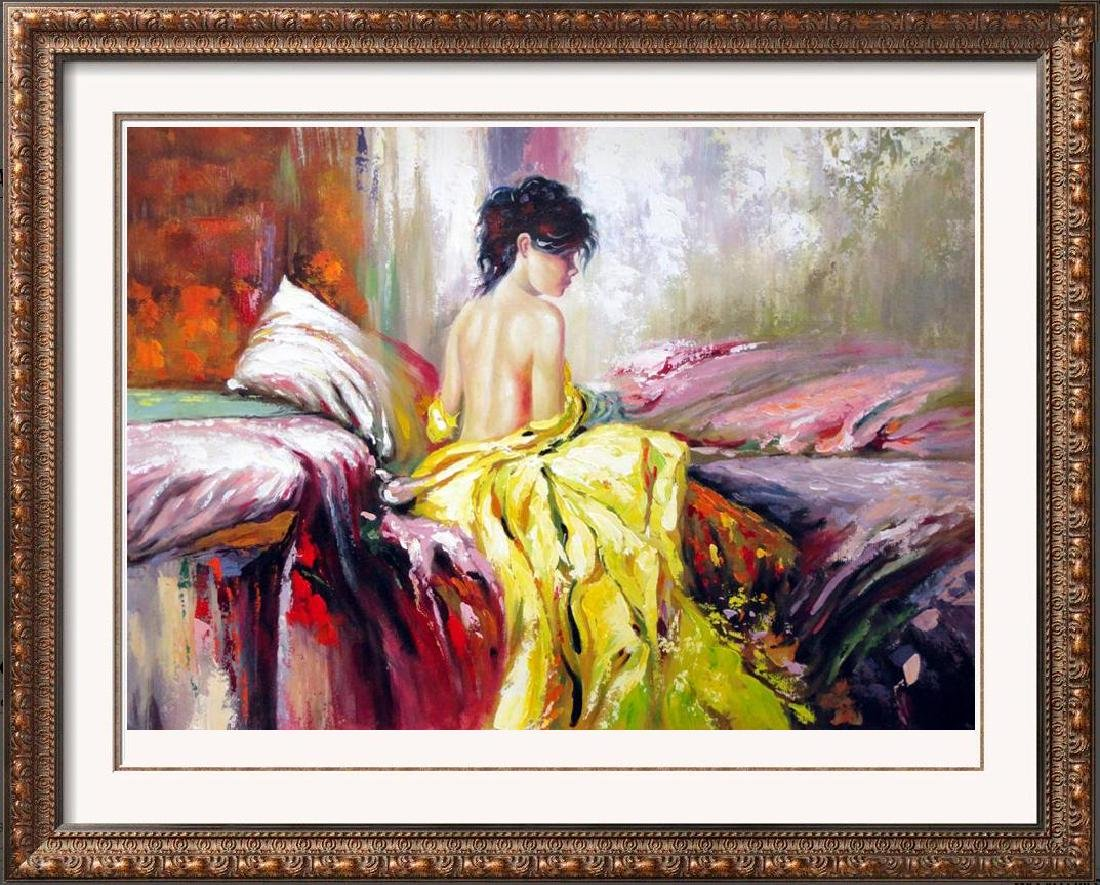 Impressionistic Large Painting on Canvas Pino Inspired - 4