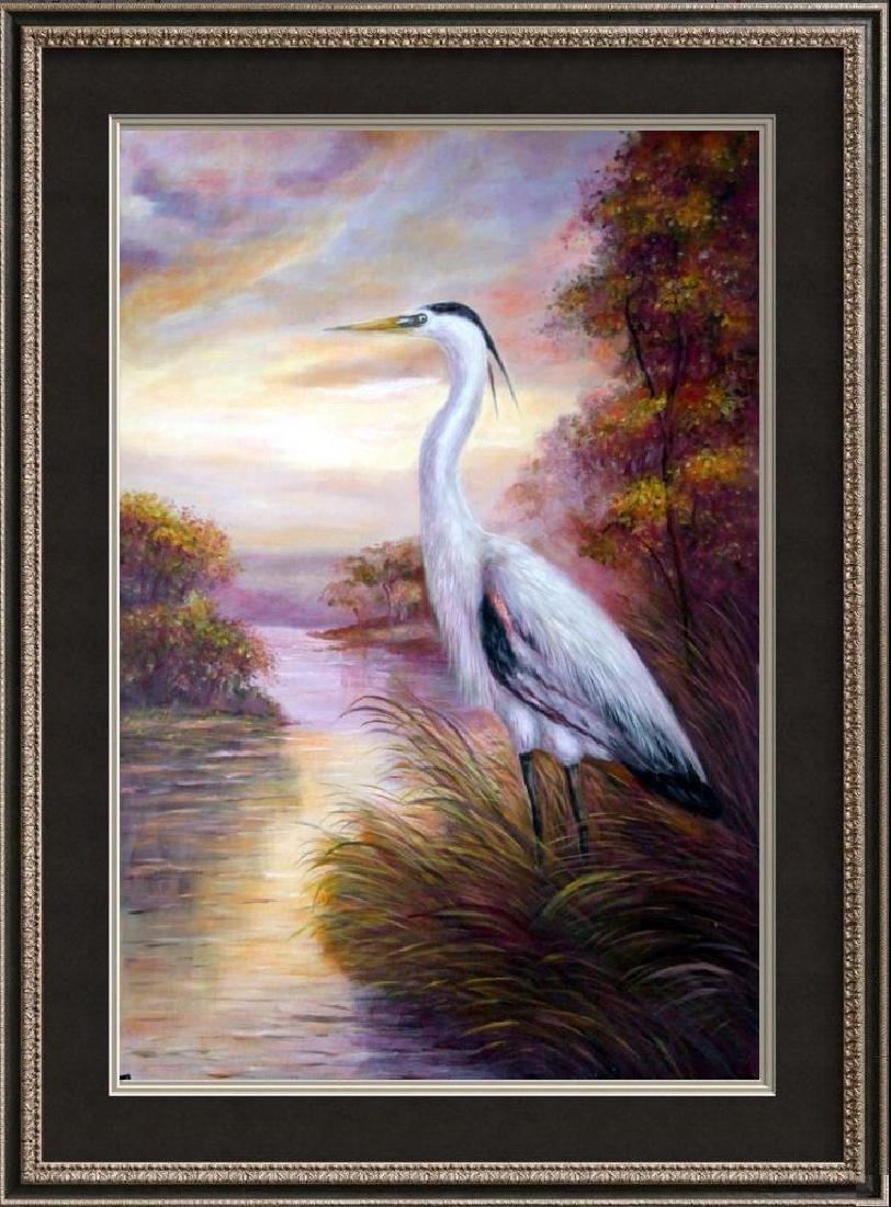 MP Elliott Fantastic Marsh Egret Realism Colorful - 5