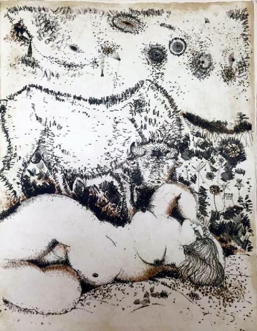 Federico Richi Plate Five The Art of Love c.1970 - 2