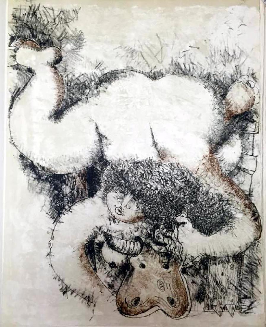 Federico Richi Plate Six The Art of Love c.1970 - 2
