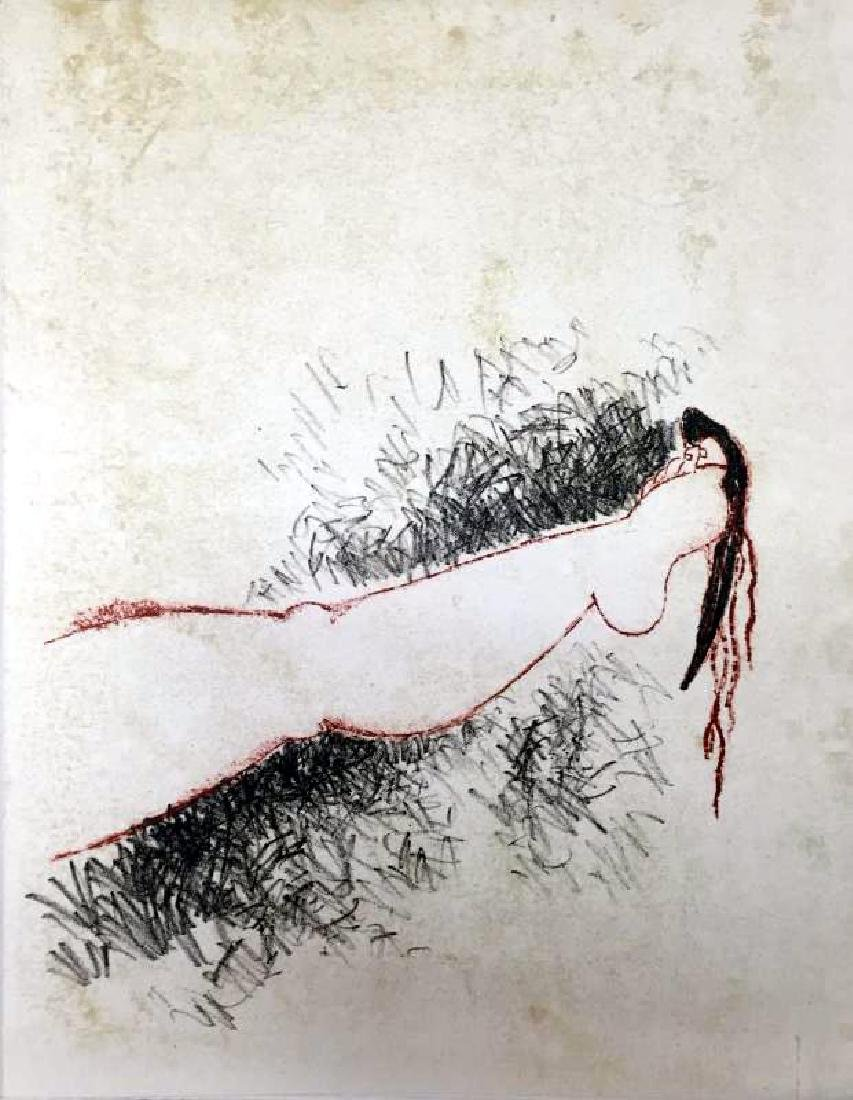 Federico Richi Plate Ten The Art of Love c.1970 - 2