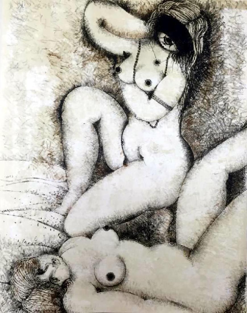 Federico Richi Plate Twenty-Two The Art of Love c.1970 - 2
