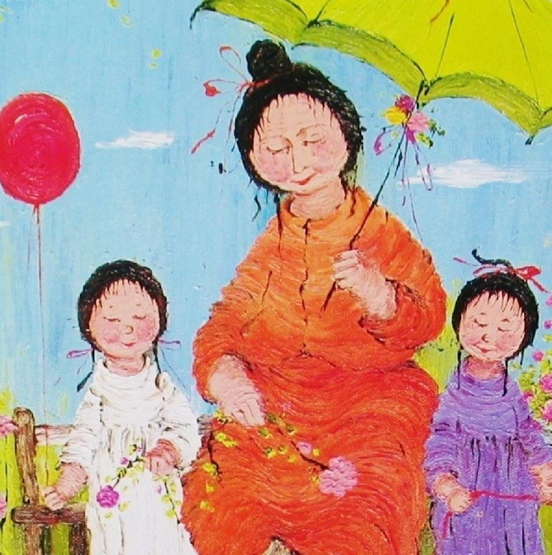 Asian Whimsical Art Print Only $10 Colorful - 3