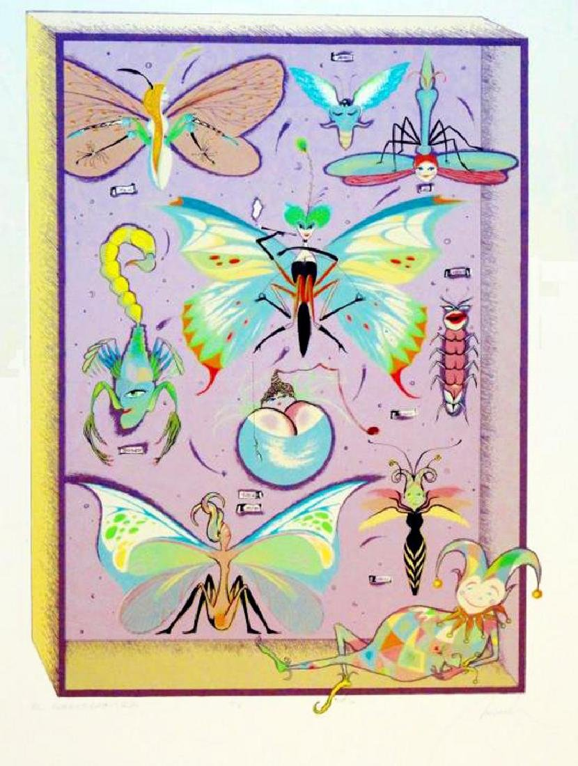 Butterfly Collection Color Serigraph Signed Ltd Ed Sale - 2