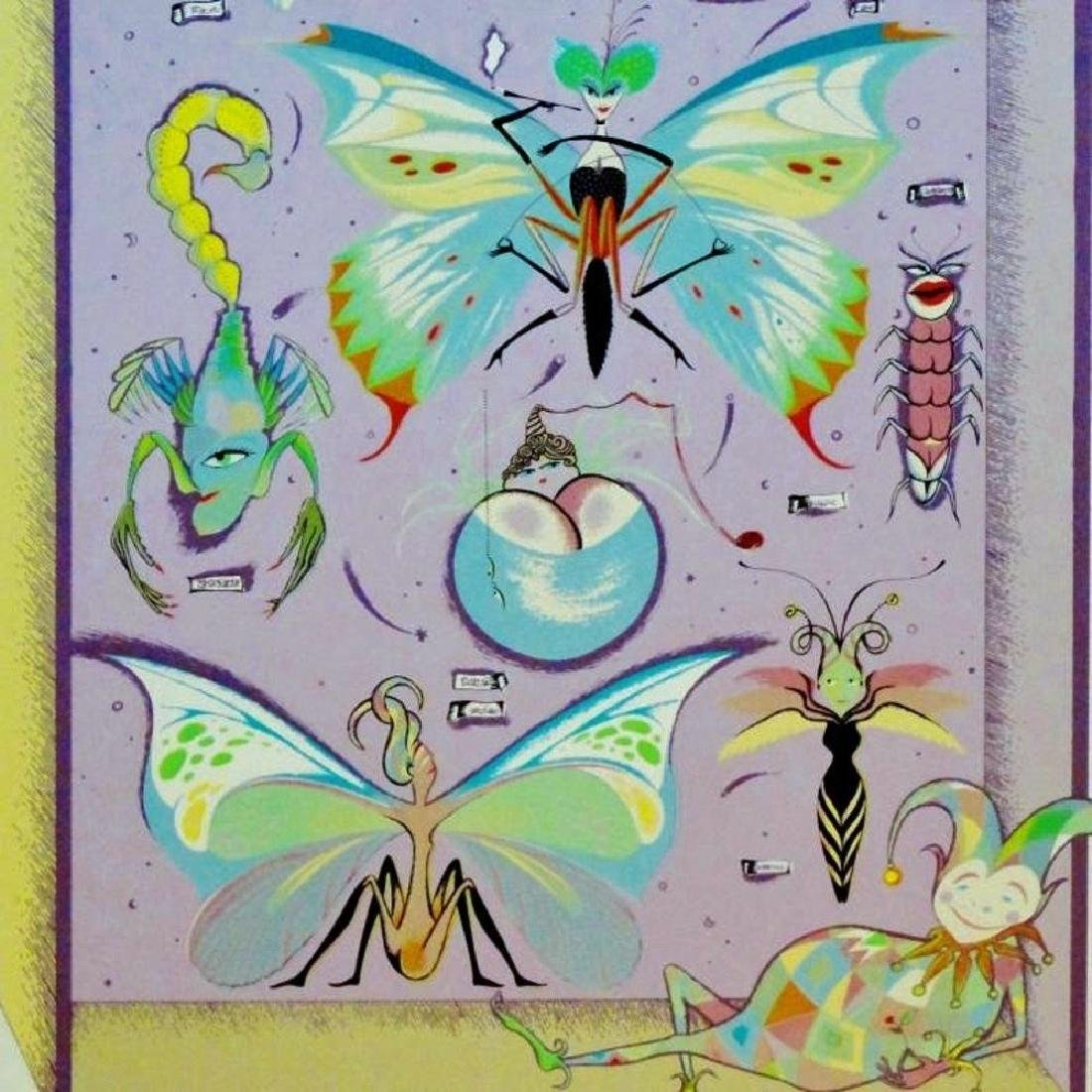 Butterfly Collection Color Serigraph Signed Ltd Ed Sale - 3