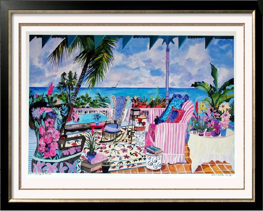 Hand Signed Tropical 1987 Eileen Seitz Jennifer