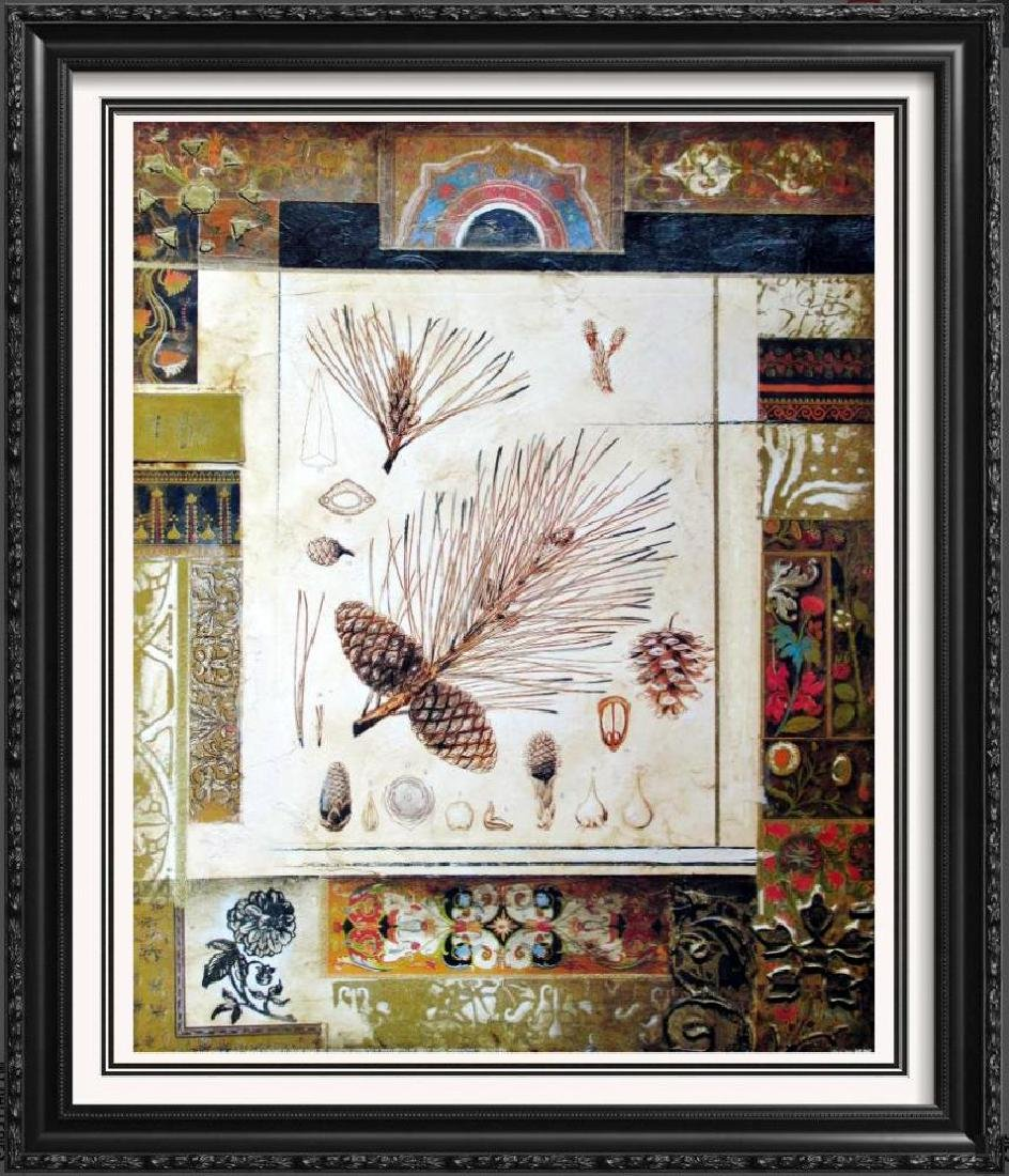Neo Classical Alexandria Alexander Gold Leaf Abstract