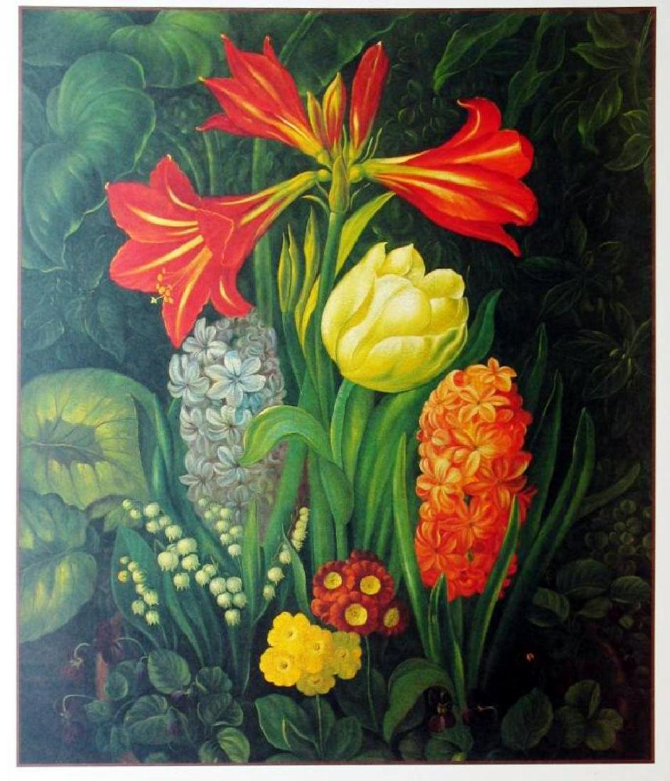 1998 Amaryllis Litho On Arches Paper