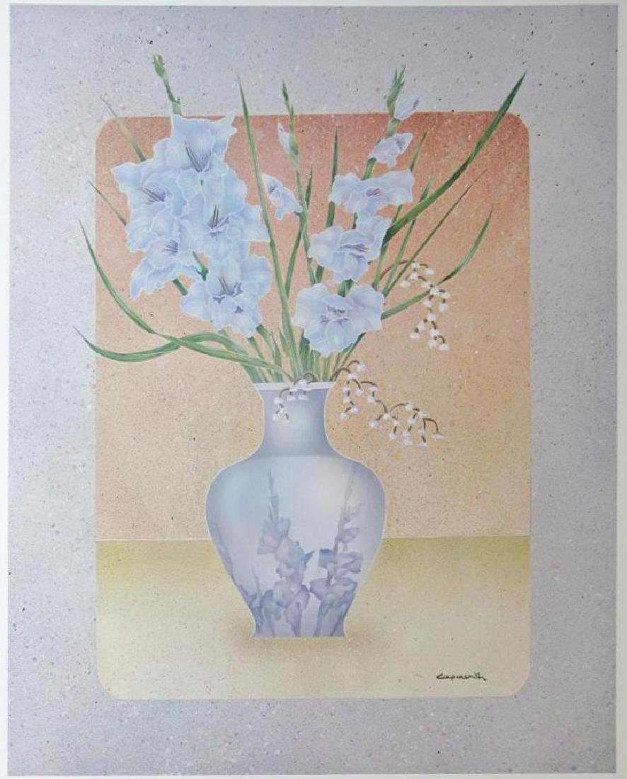 Lavender Lady Coopersmith 1984 On Arches - 2