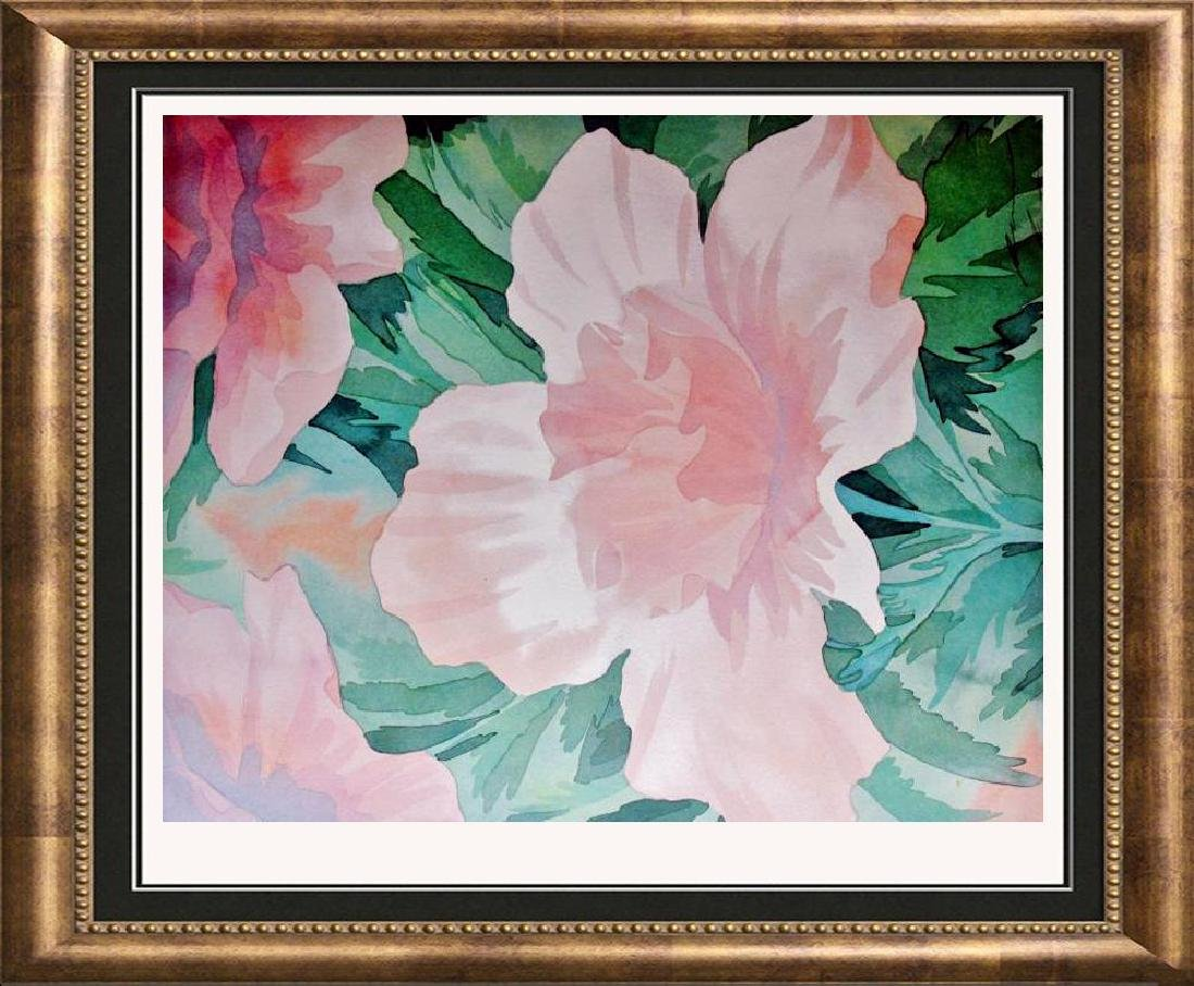 Robert White 1998 Pink Rose On Arches