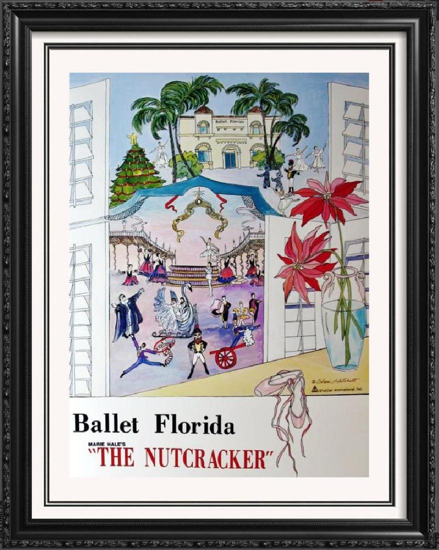 Nutcracker Signed Shari Hatchett Ballet Poster