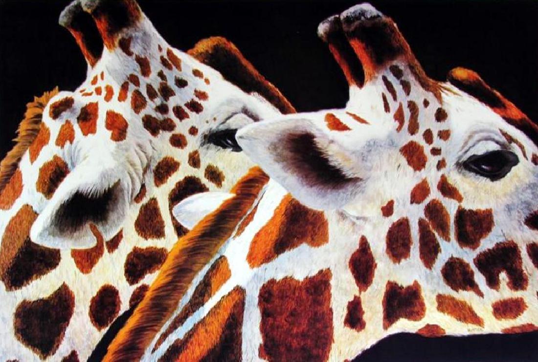 Giraff Abstract Modern Realism Poster - 2