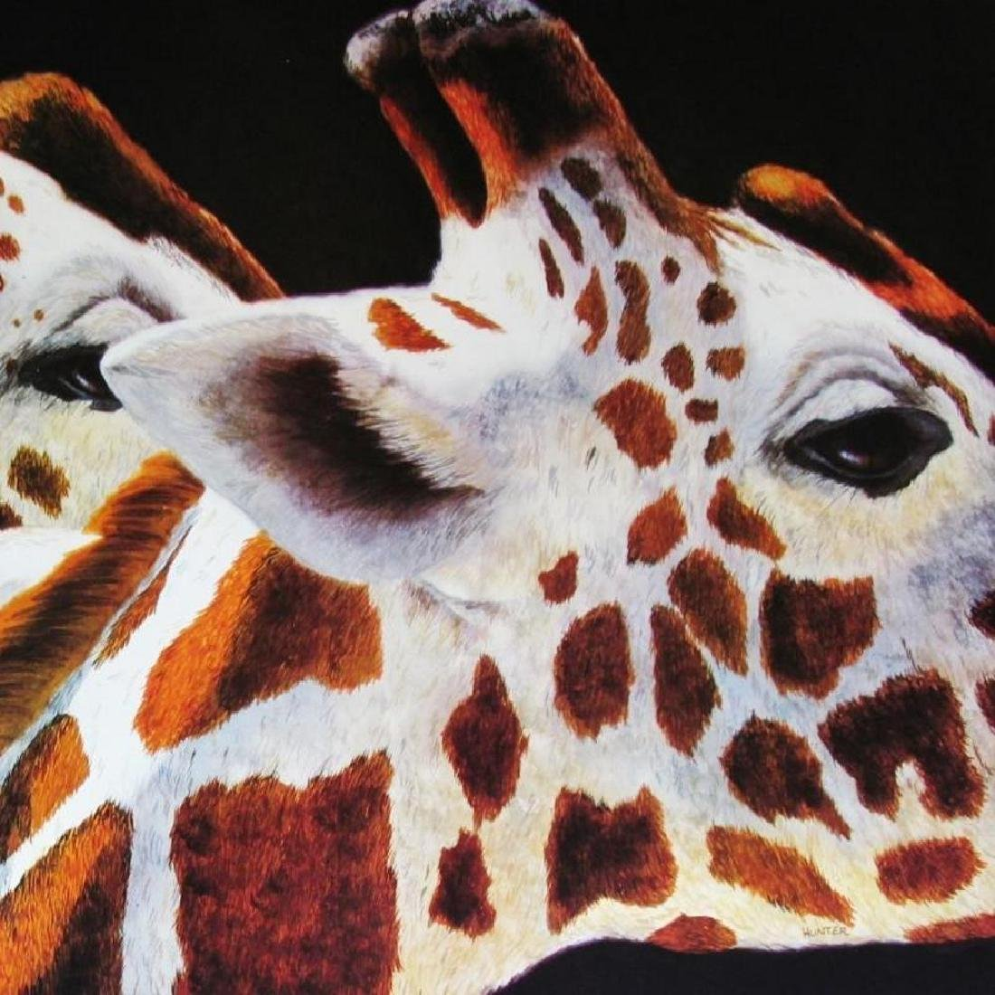 Giraff Abstract Modern Realism Poster - 3