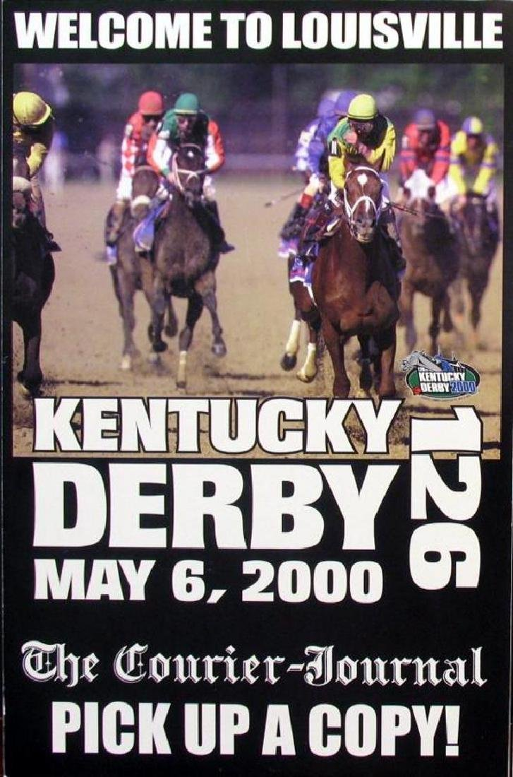 2000 Kentucky Derby Memorabilia Newspaper & Print - 3