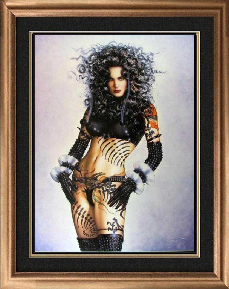 OLIVIA DE BERARDINIS LTD. ED SIGNED PINUP ART MEMORIES w