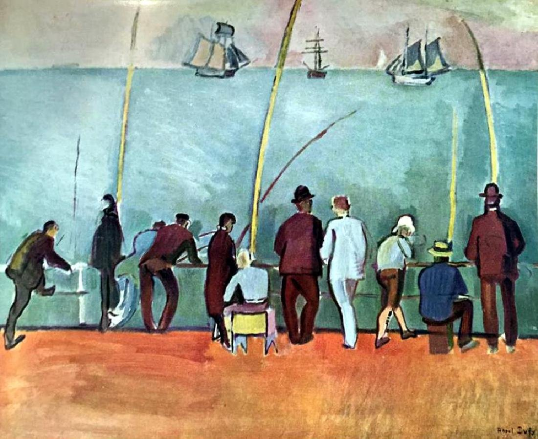 Raoul Dufy Fishermen with Lines c.1908 Fine Art Print - 2