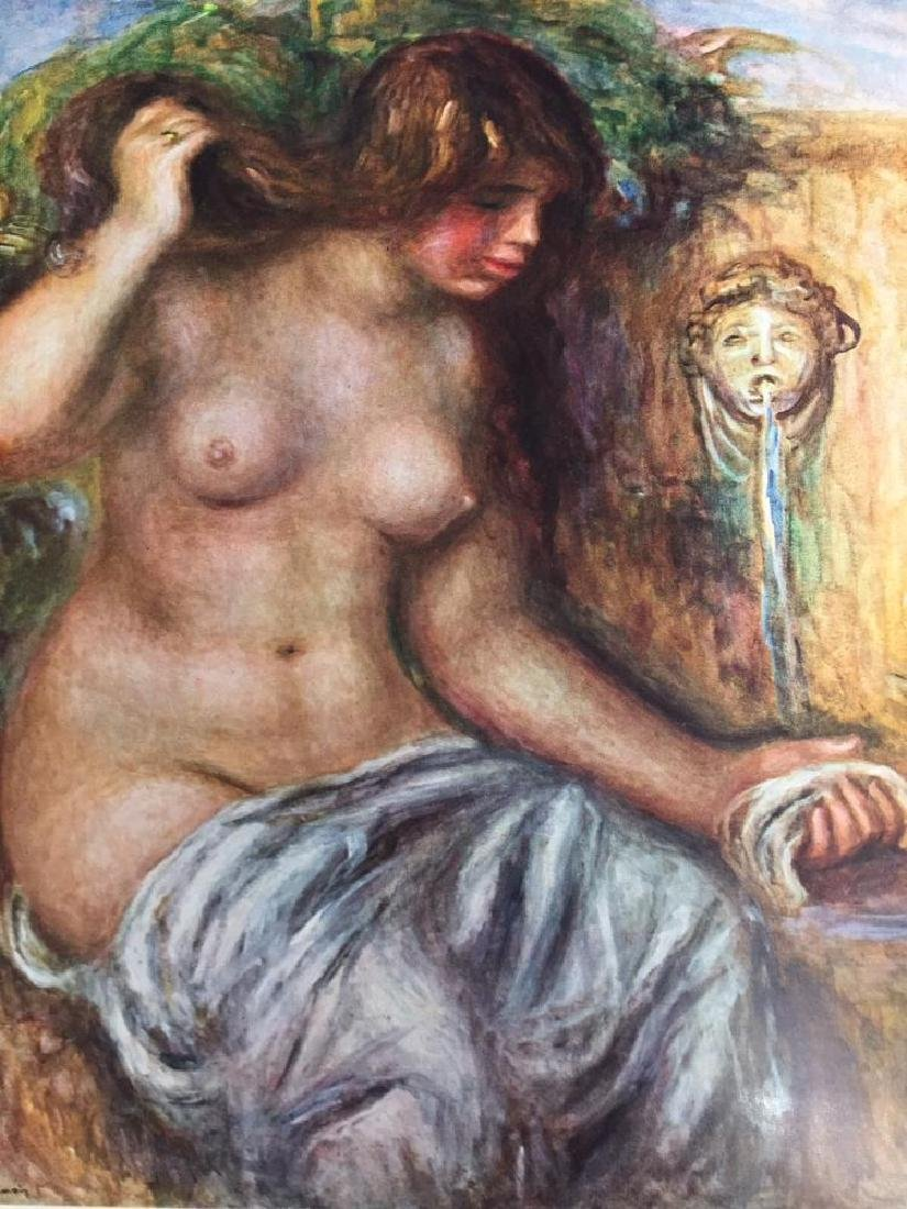 Pierre Auguste Renoir Woman at the Fountain c.1910 Fine - 2